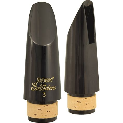 best clarinet mouthpiece selmer goldentone bb clarinet mouthpiece 3 facing