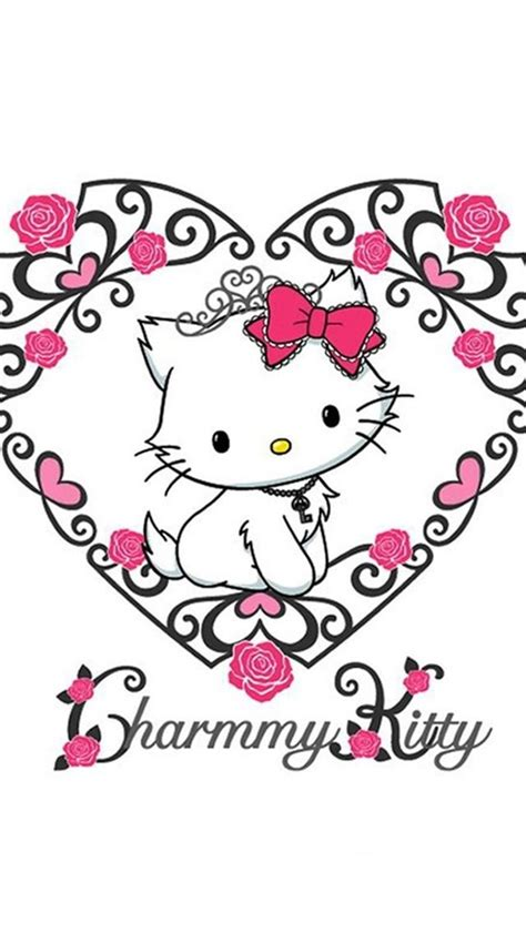 hello kitty iphone wallpaper pinterest hello kitty iphone wallpaper wallpapersafari