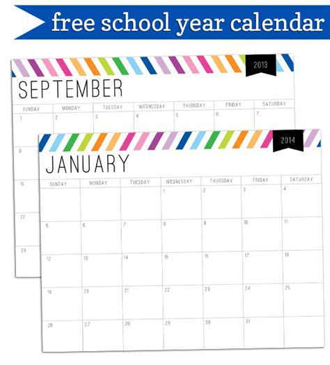 free school calendar template 2014 calendar printable add text autos post