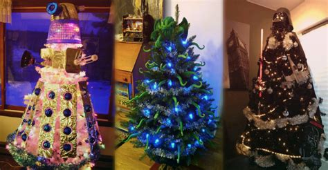 15 geeky christmas trees to celebrate your favorite fandoms