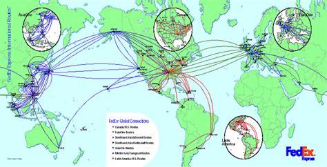 fedex route map