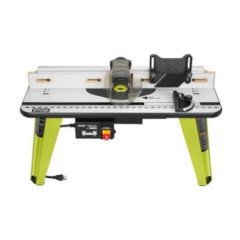 Home Depot Ryobi Table Saw by Ryobi 32 In X 16 In Intermediate Router Table A25rt02g