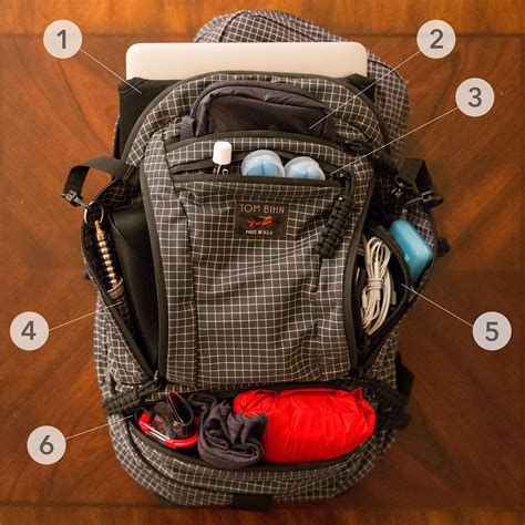 Bags In Bag Travelling 5 In 1 ultralight packing list how to pack light travel with 1 bag