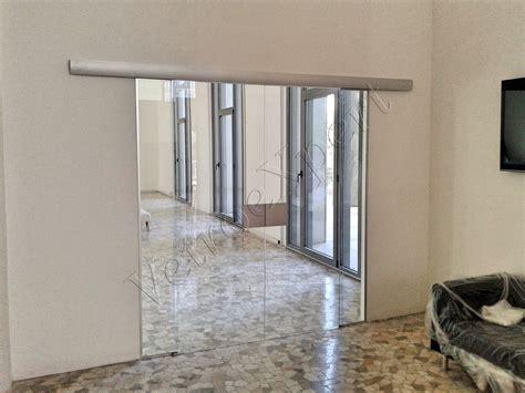 porta scorrevole su misura porte in vetro su misura e pareti divisorie vetroexpert