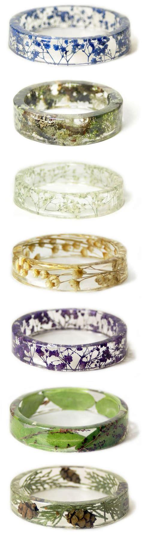 Minimalist Flower Handmade Casing best 25 resin ring ideas on jewelry