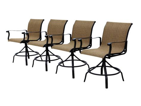allen and roth patio chairs patio bar table allen roth safford swivel bar chairs