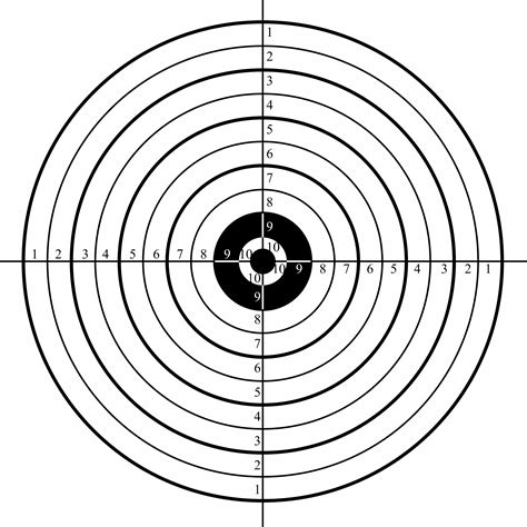printable handgun targets 8 5x 11 free shooting targets clipart best clipart best