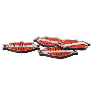 harley davidson rubber sts harley davidson bar shield rubber coaster set at