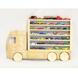 Semi Truck Wheels Display Wooden Truck Hanging Storage Display Shelf For By