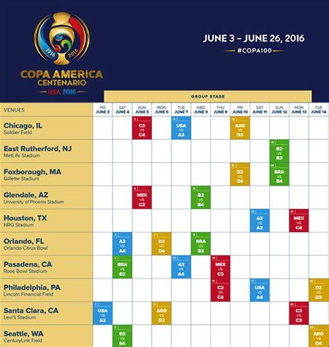 printable schedule copa america 2015 copa america schedule 2016 india calendar template 2016