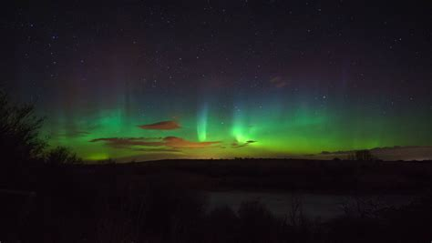 northern lights when and where midnight the northern lights in canada travellers