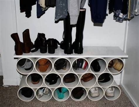 shoe rack pvc pipe 25 best ideas about pvc shoe racks on pinterest 8 pvc pipe modern shoe rack and hanging shoe