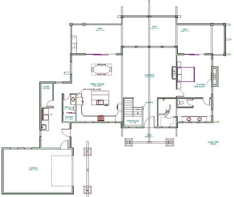 main floor plans crookston designs plan 10044 00