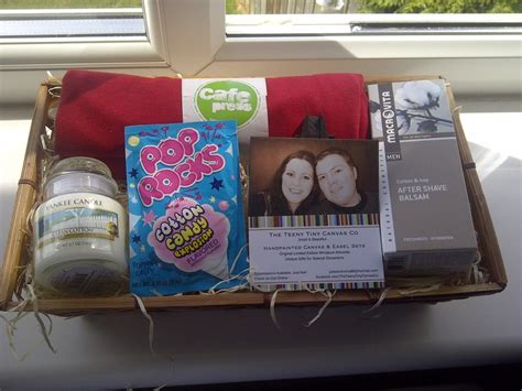Wedding Anniversary Yankee Candle by My Cotton Themed Gift Basket For The Husband A Clean