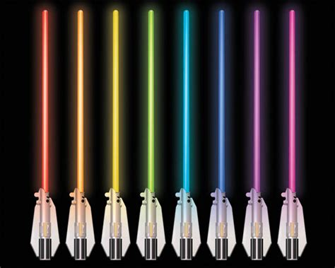 do lightsaber colors anything deluxe 8 color lightsaber room light wars science