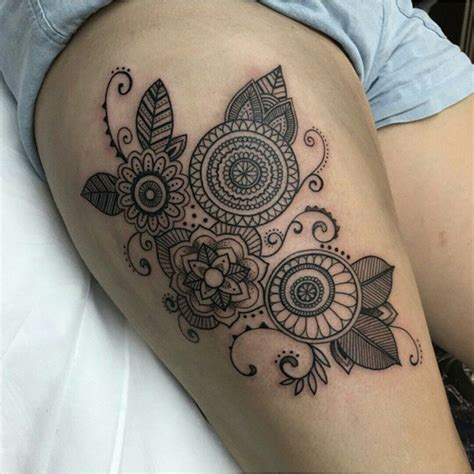 tattoo pictures thigh mehendi thigh tattoo for girls best tattoo ideas gallery