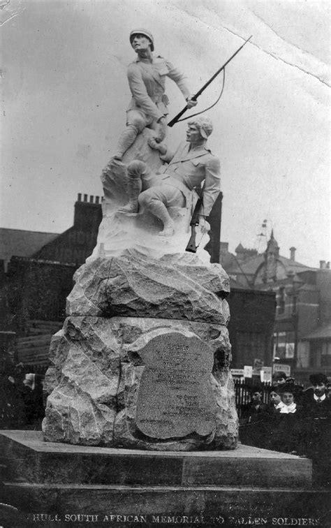 Roll of Honour - Yorkshire - Hull Boer War Memorial
