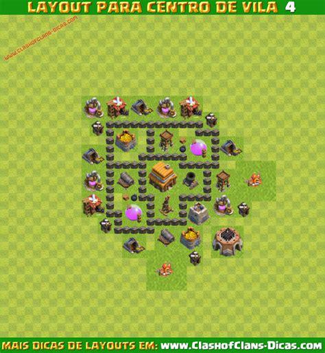 layout coc cv 3 melhores layouts para clash of clans centro de vila n 237 vel