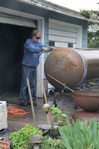 how to make a propane pit pit made from propane tank kbdphoto