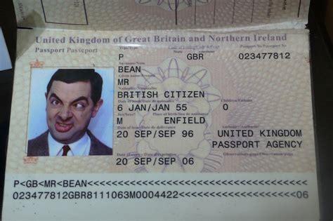 bean passport  passport
