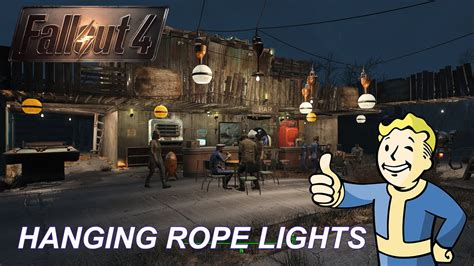 hanging rope lights hanging rope lights tutorial fallout 4