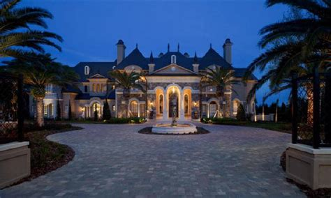 chateau design architect for ultra custom luxury homes and plan designs