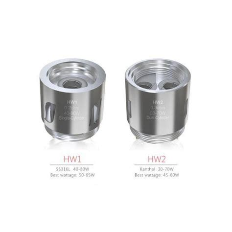 Eleaf Hw1 0 2ohm Replacement Spare Parts eleaf hw replacement coils by eleaf toronto ontario canada wicks wires vape shoppe