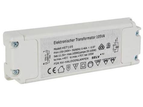 Trafo Lu Tl 36 Watt elektronische transfo 105va elektronische transfo 105va