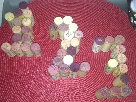 wine cork table numbers wine cork table numbers crafted wine cork