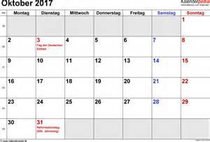 Kalender Oktober 2018 Kalender Oktober 2017 Als Pdf Vorlagen