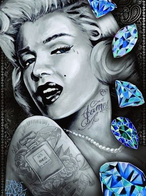 marilyn monroe with tattoos poster 268 best marylin images on marilyn
