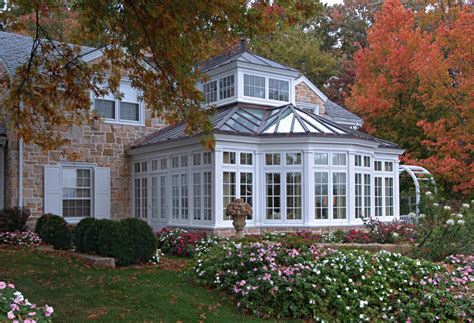House Plan Online A Colonial Stone House With A Traditional Conservatory