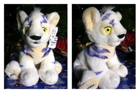 yurble plushie neopets white kougra plushie by the chest on deviantart