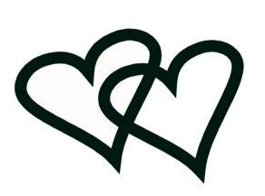 Double heart ring clipart cliparthut free clipart