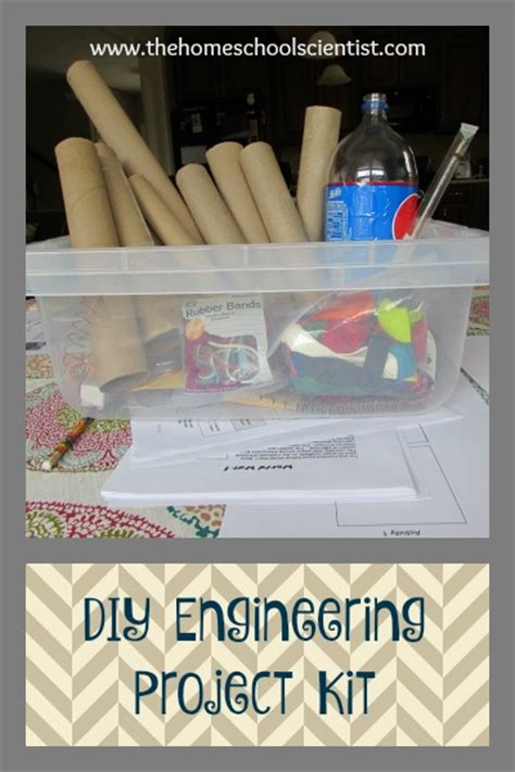 diy engineering projects diy engineering project kit the homeschool scientist