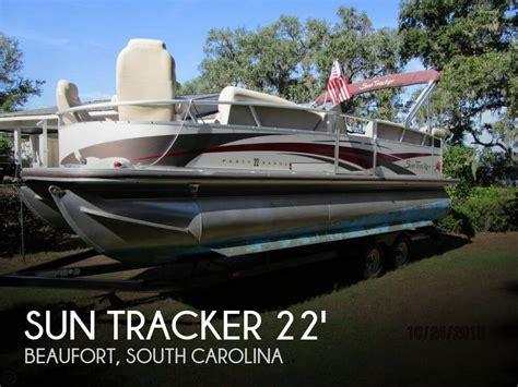 sold sun tracker party barge 22 regency boat in beaufort - Pontoon Boats For Sale In Beaufort Sc