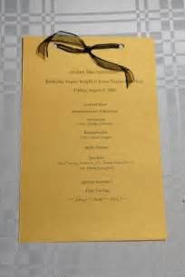 best photos of for birthday dinner program sample