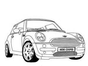 Mini Cooper Drawing How To Draw Mini Cooper