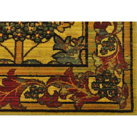 Mission Style Area Rugs 5x8 5 6 Quot X 8 Nourison Timeless Arts Crafts Mission Style Wool Area Rug Area Rugs