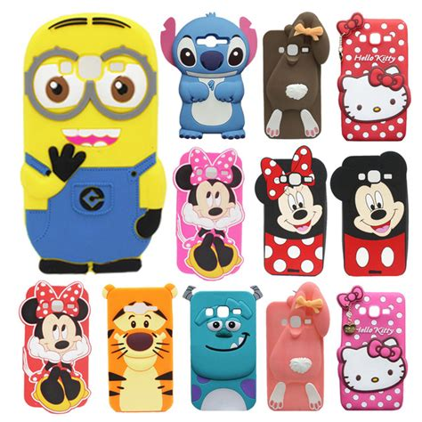 Samsung J5 3d Silicone Mickey Minnie Mouse Cover Casing Bumper aliexpress buy for samsung galaxy j3 2016 j320