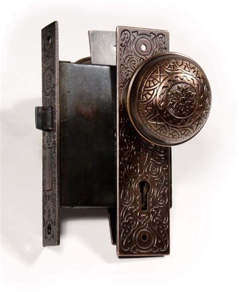 Antique Door Locks For Sale four matching antique door hardware sets erwin 1889 patent date ndks33 for sale