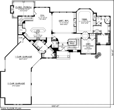 Ranch Floor Plans With Walkout Basement house plan 99103 at familyhomeplans com