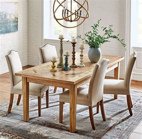 mango wood upholstered dining chairs soften a dining space with upholstered chairs dining