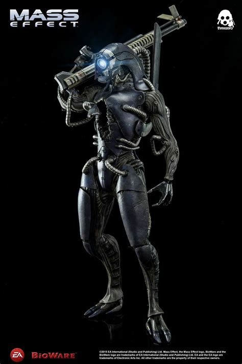 figure effects photos and details for threezero mass effect legion figure