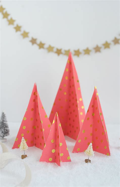 alice and loisdiy paper christmas trees alice and lois