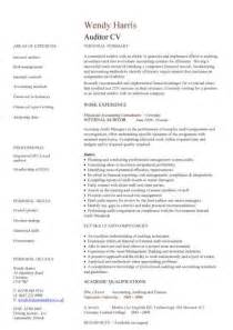 auditor CV sample, ?Bookkeeping and accounting skills, on