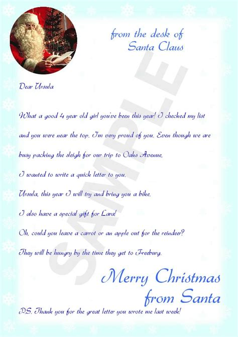 on the shelf letter from santa template letters from santa exles letter of recommendation