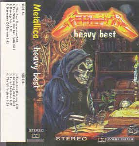 metallica heavy best metallica heavy best cassette at discogs