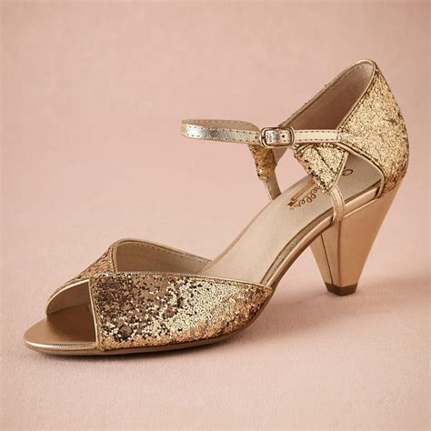 comfortable dancing shoes wedding gold glitter spark wedding shoe handmade pumps leather