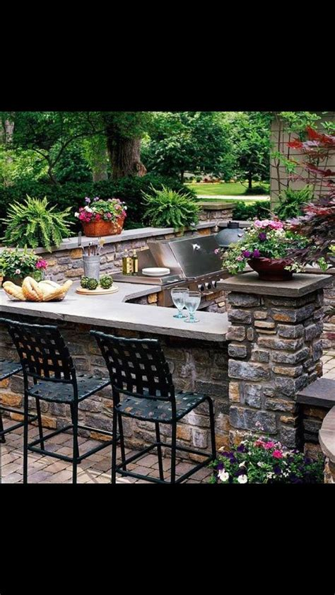 beautiful outdoor kitchens beautiful outdoor kitchen the great outdoors pinterest